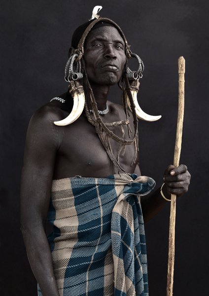 Bersidi, Mursi Man, March 2011