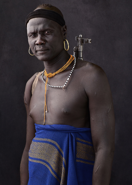 Berkoro, Mursi Man, March 2011