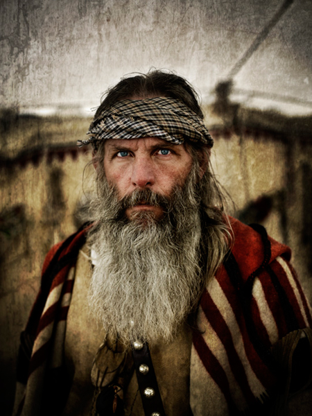 <strong>Grand Prize Winner</strong> <em>Mountain Man,</em> Michal Venera.