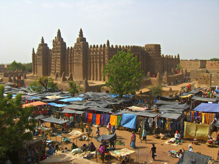 <em>Michael Burr: The Market and the Mosque</em>, Mali