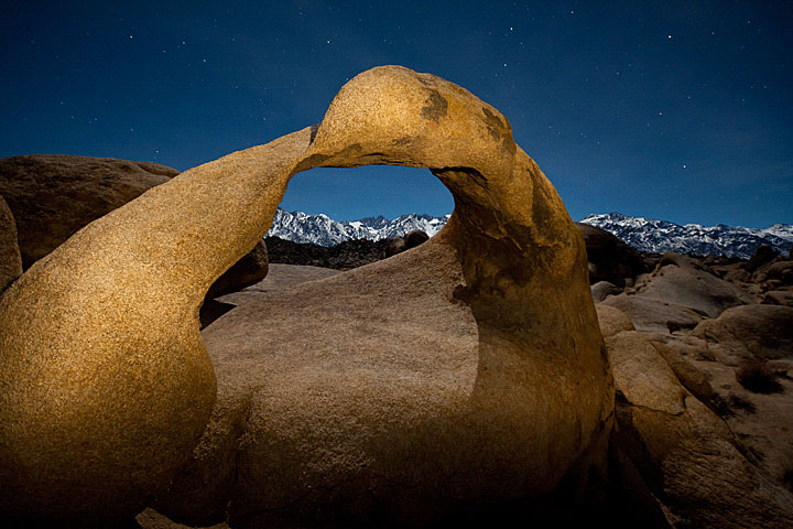 <em>Sandra Gennrich: Clear Night in the Sierras</em>, Mobius Arch Alabama Hills Lone Pine California