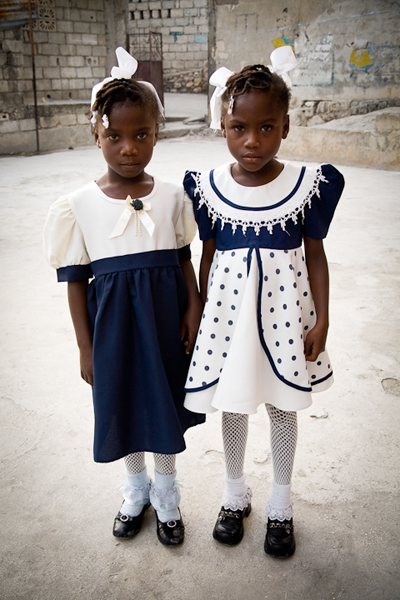 <em>Kerry Rodgers: On Their Way to Church</em>, Haiti