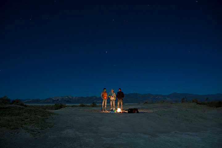 <em>Aaron Chervenak: Desert Moonlight</em>, Black Rock Desert Nevada
