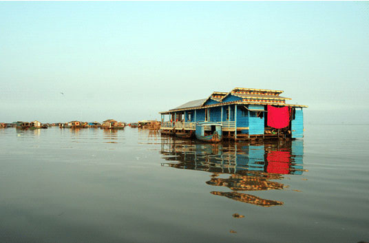 <em>Chanthou Chhay: Floating House</em>, Cambodia