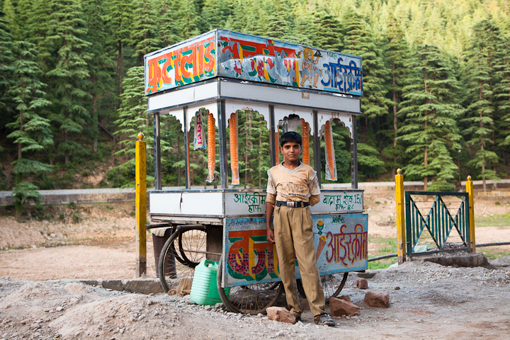 <em>Jamie Williams: Ice Cream Walla</em>, India