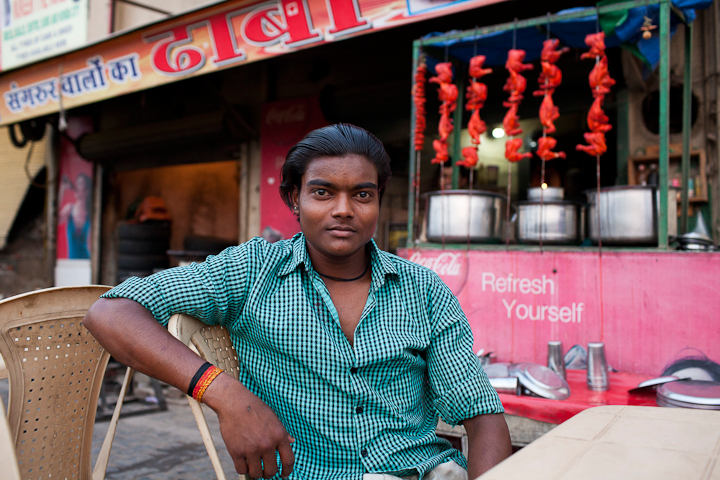 <em>Jamie Williams: Young Man at Delhi Haba</em>, India