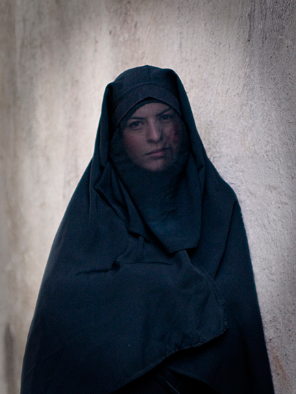 <em>Syria Woman,</em> Claudia Wiens.