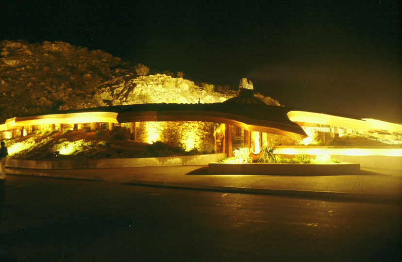 Chart House Restaurant, Rancho Mirage, California, 1977.