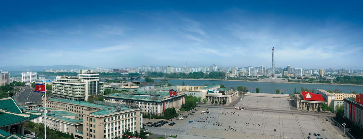 Cityscape, Pyongyang. Images courtesy of DOM Publishers and Philipp Meuser.