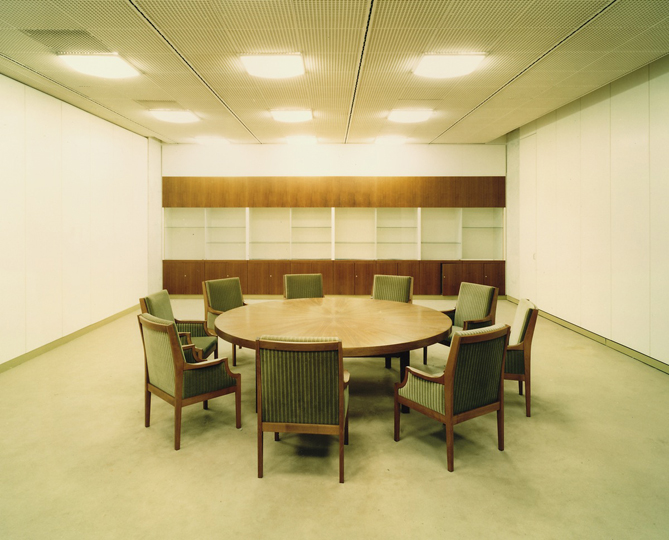 Conference room, 1996.
