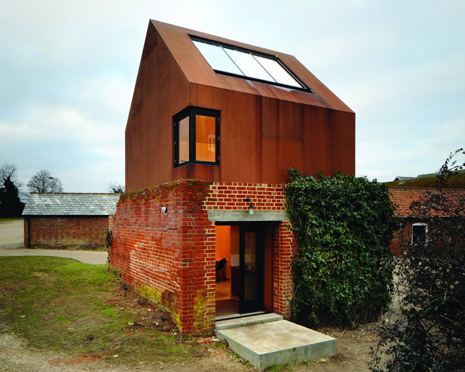 Dovecote Studio, Snape Maltings, Suffolk, England, 2009.  By Haworth Tompkins.