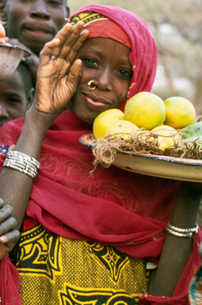 <em>Fruit seller, Niger</em>, Peter Dixon