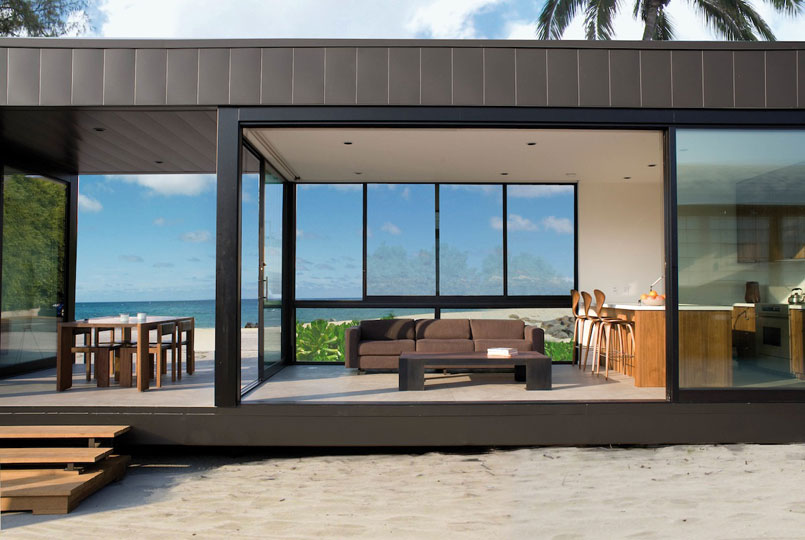 <em>Rincon mobile home.</em> By Marmol Radziner. Photo © Tyler Boye.