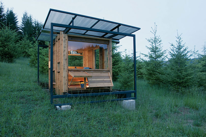 <em>Watershed, Wren, OR.</em> By FLOAT Architectural Research and Design. Photo © Gary Tarleton.