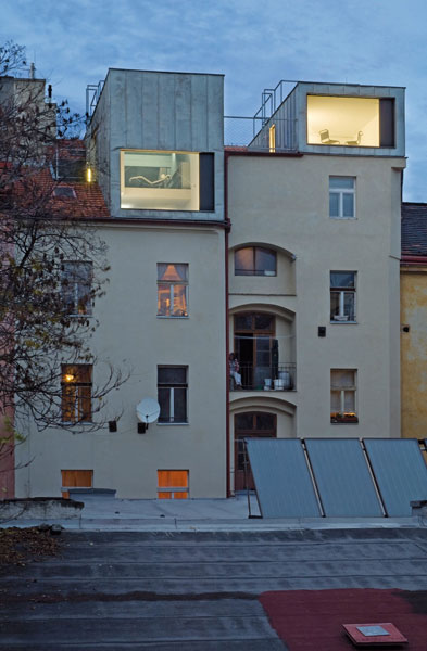 <em>Residential Containers, Prague, Czech Republic.</em> By Petr Hajek