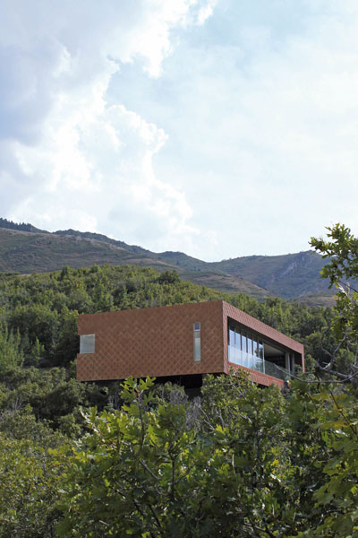 <em>House, Emigration Canyon, Utah.</em> By Sparano + Mooney
