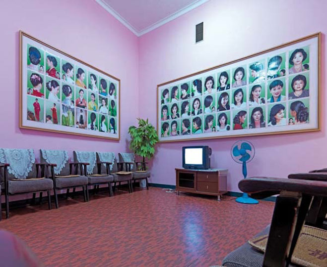 Hair Salon, Pyongyang. Images courtesy of DOM Publishers and Philipp Meuser.