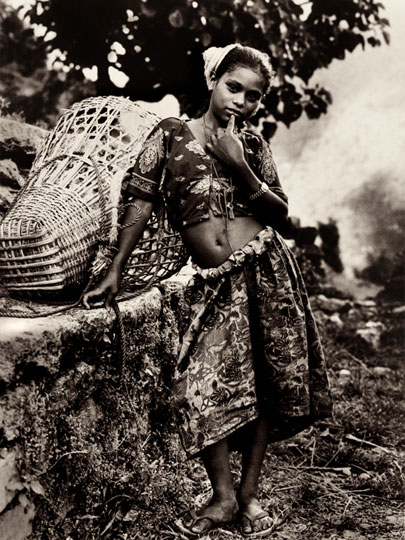 Heward Jue: Hill Girl, Nepal