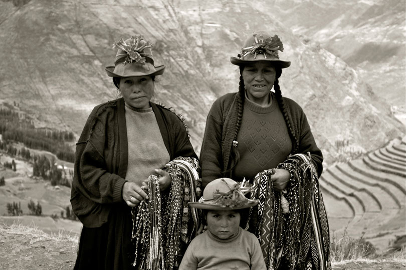 Marc Erlandson: Peruvian Family