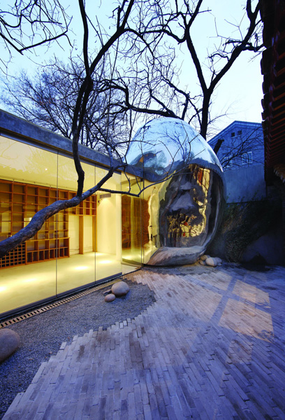 Hutong Bubble, Beijing, China, 2009.  By MAD Architects.