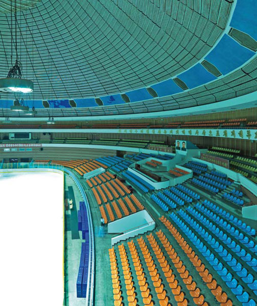 Ice Rink, Pyongyang. Images courtesy of DOM Publishers and Philipp Meuser.