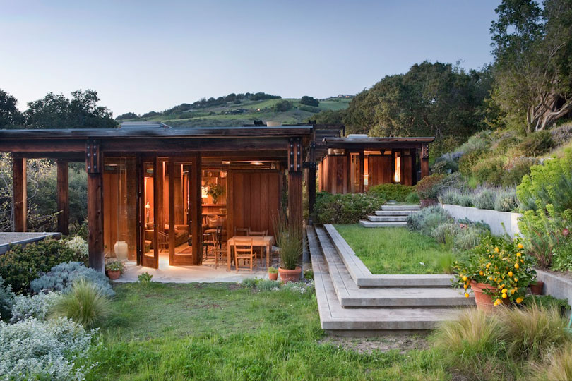 George and Jennifer Brook-Kothlow House, Carmel Valley, California, 1978-8.