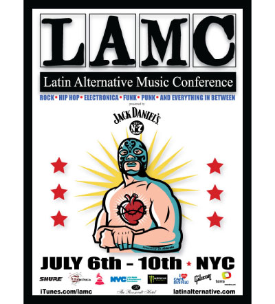 LAMC Latin Alternative Music Conference: July 6 10