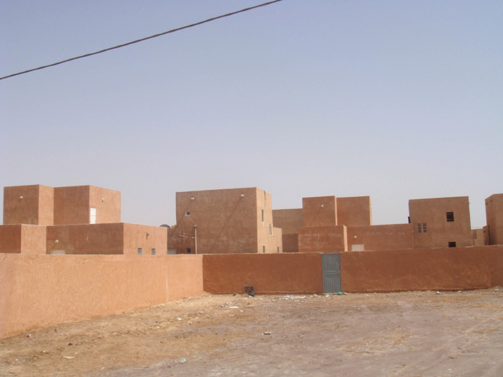 Nouakchott, Mauritania.  Photograph by David Adjaye