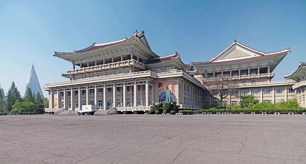 People's Palace of Culture, Pyongyang. Images courtesy of DOM Publishers and Philipp Meuser.