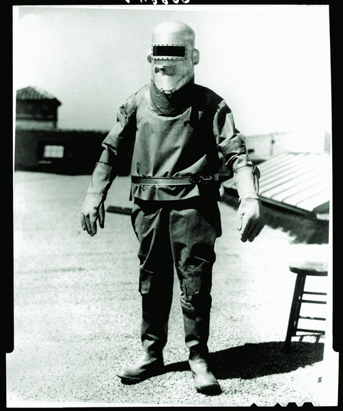 Pressure Suit, by Russell Colley and WIley Post, 1932.