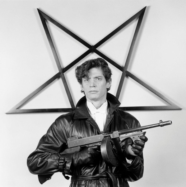 Robert Mapplethorpe Self Portrait, 1983 ©Robert Mapplethorpe Foundation, Used by permission, Courtesy of Sean Kelly Gallery, New York