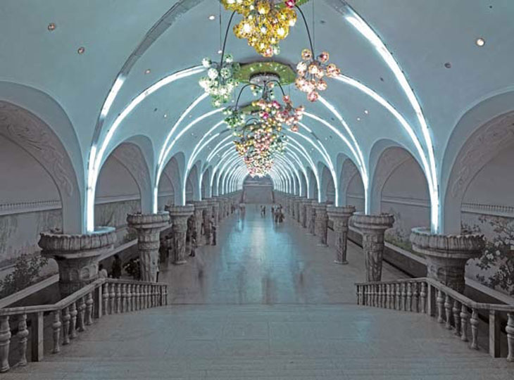 Subway Station, Pyongyang. Images courtesy of DOM Publishers and Philipp Meuser.