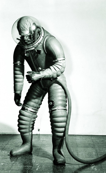 Mark 1 <em>Tomato Worm</em> Suit, by B. F. Goodrich.