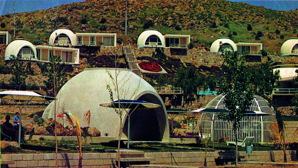Airform resort housing in Turkey, 1950.