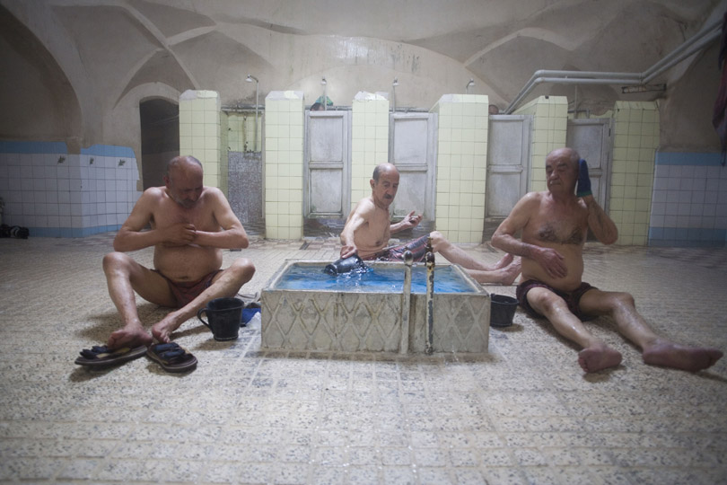 <em>Men in bath - Qazvin, Iran</em>, Ramin Talaie