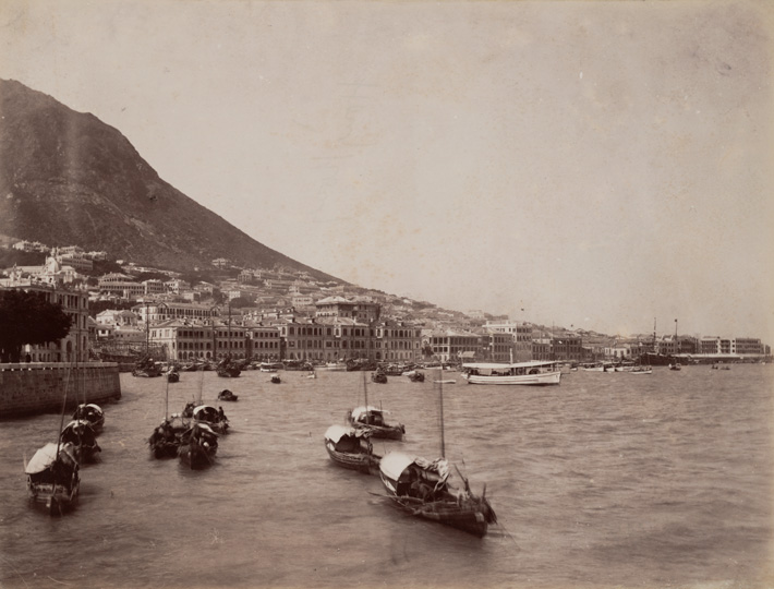 Anonymous <em>The Harbour, Hong Kong</em> c. 1900