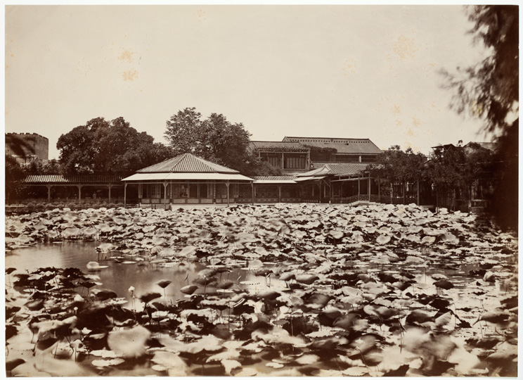 Anonymous <em>The Senior Hong Merchant How Qua's Summer House, Canton</em> ca. 1880s