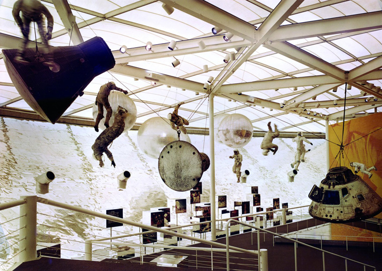 US Pavilion at Osaka World's Fair, 1970.