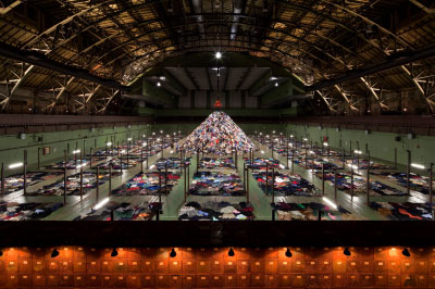 Photography by James Ewing courtesy of Park Avenue Armory. (Click images to enlarge)
