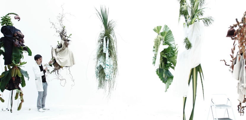 Fashion in Nature by Makoto Azuma, from My Green City, Copyright: Gestalten, 2011