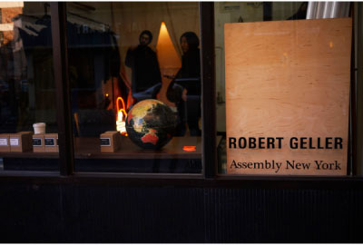 gellerstore cover Robert Geller Pop UP Shop