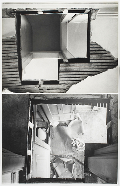 BRONX FLOOR Gordon Matta-Clark Bronx Floor, 1973 courtesy of the Estate of Gordon Matta-Clark and David Zwirner Gallery