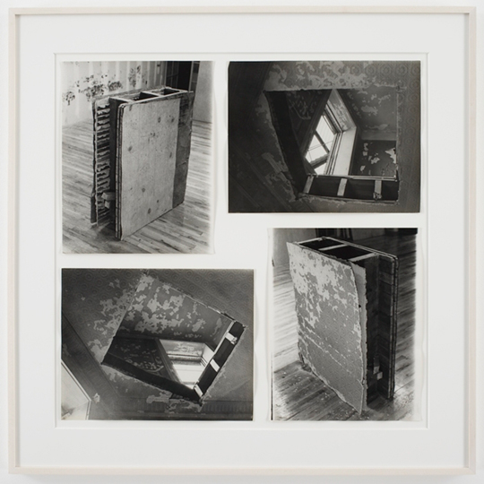 BRONX FLOOR FLOOR HOLE 01 Gordon Matta-Clark Bronx Floor: Floor Hole, 1972 courtesy of the Estate of Gordon Matta-Clark and David Zwirner Gallery