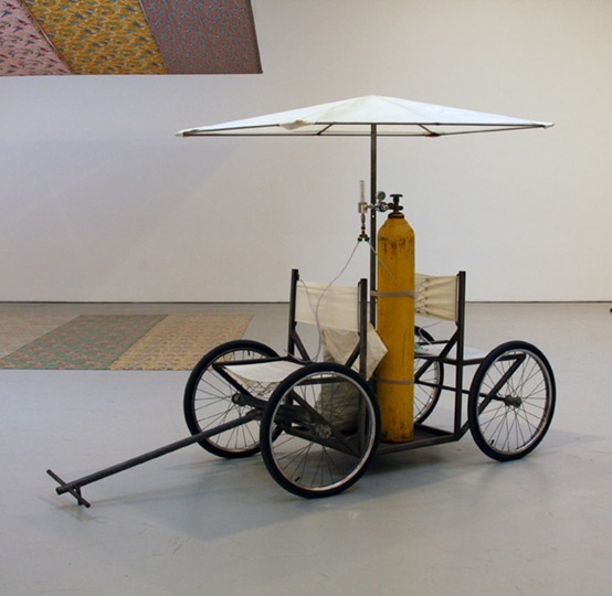 FRESH AIR CART Gordon Matta-Clark Fresh Air Cart, 1972 Gordon Matta-Clark courtesy of the Estate of Gordon Matta-Clark and David Zwirner Gallery