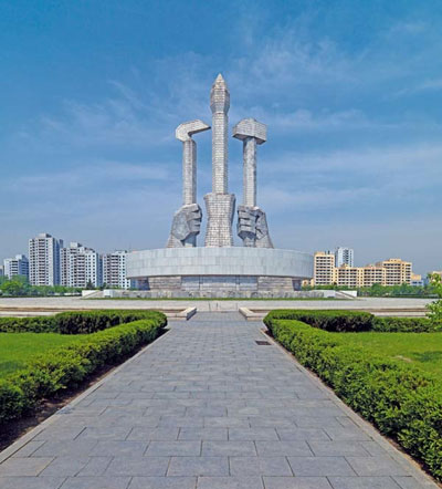 Party Foundation Monument, Pyongyang. Images courtesy of DOM Publishers and Philipp Meuser.