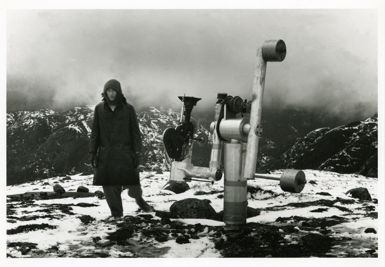Michael Snow <em>La région centrale</em>, 1971 © Michael Snow