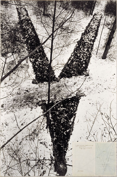 Jan Dibbets <em>Crossing the Path</em>, 1969