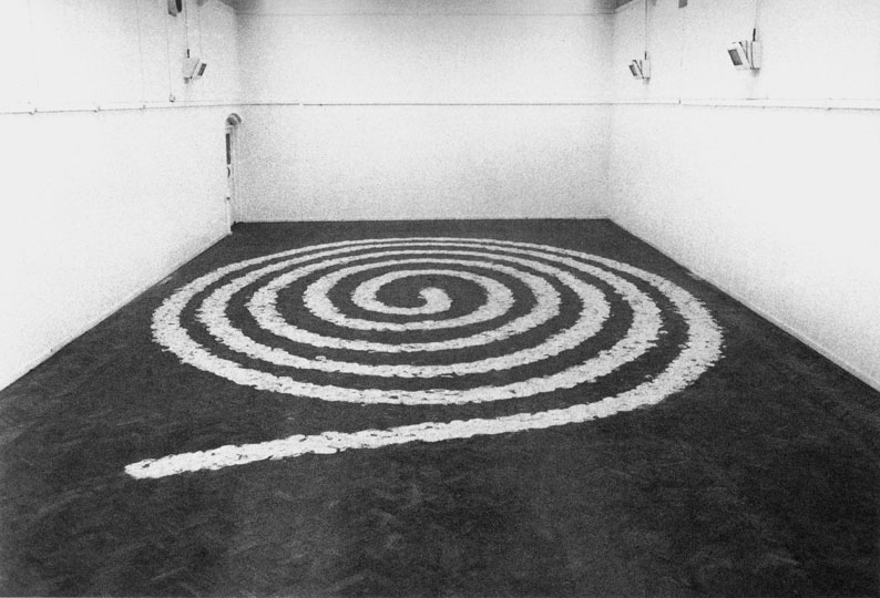 Richard Long 1970 © 2012 Artists Rights Society