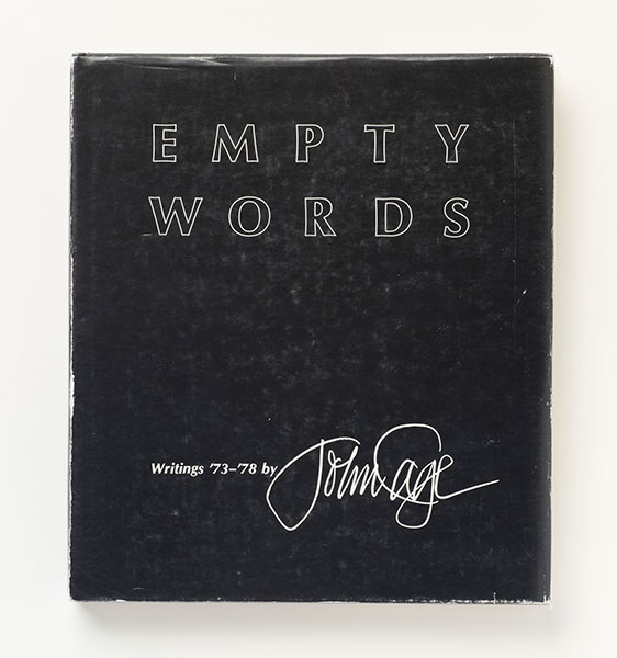 <em>Empty Words - Writings '73-'78</em>, 1979