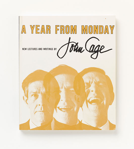 <em>A Year From Monday - New Lectures and Writings by John Cage</em>, 1969
